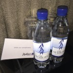 Review Radisson O2 Wharf Hotel Complimentary Water