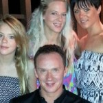 Russell Watson Daughters Wife Louise Interview 2015