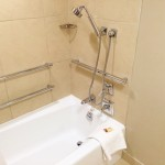Disabled Access Room Sheraton New York grab rails