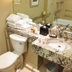 Disabled Access bathroom Sheraton New York