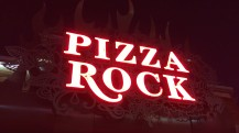 Enjoy Celebrity Radio's Review Pizza Rocks Restaurant Downtown Las Vegas…. Pizza Rock located in the heart of downtown Las Vegas is not a pizzeria, it's an Italian restaurant that does
