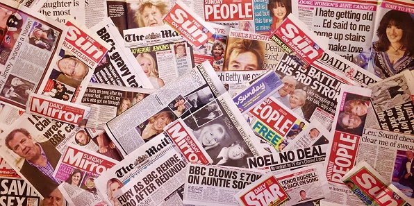 Alex Belfield Newspaper Press Coverage Celebrity Radio Sun Mirror People Mail Express