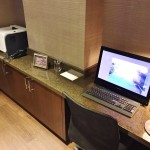 Review Club Lounge Sheraton Times Square New York Business Internet Printer