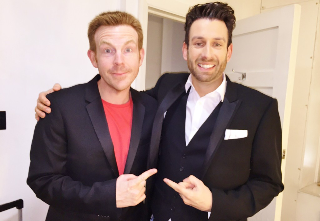 Alex Belfield Jamie Raven Britain's Got Talent Interview