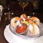 Review Champions Restaurant Trump Doral Miami Shrimp cocktail