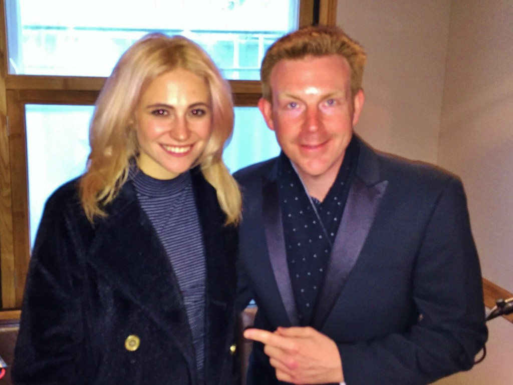 Alex Belfield & Pixie Lott Interview