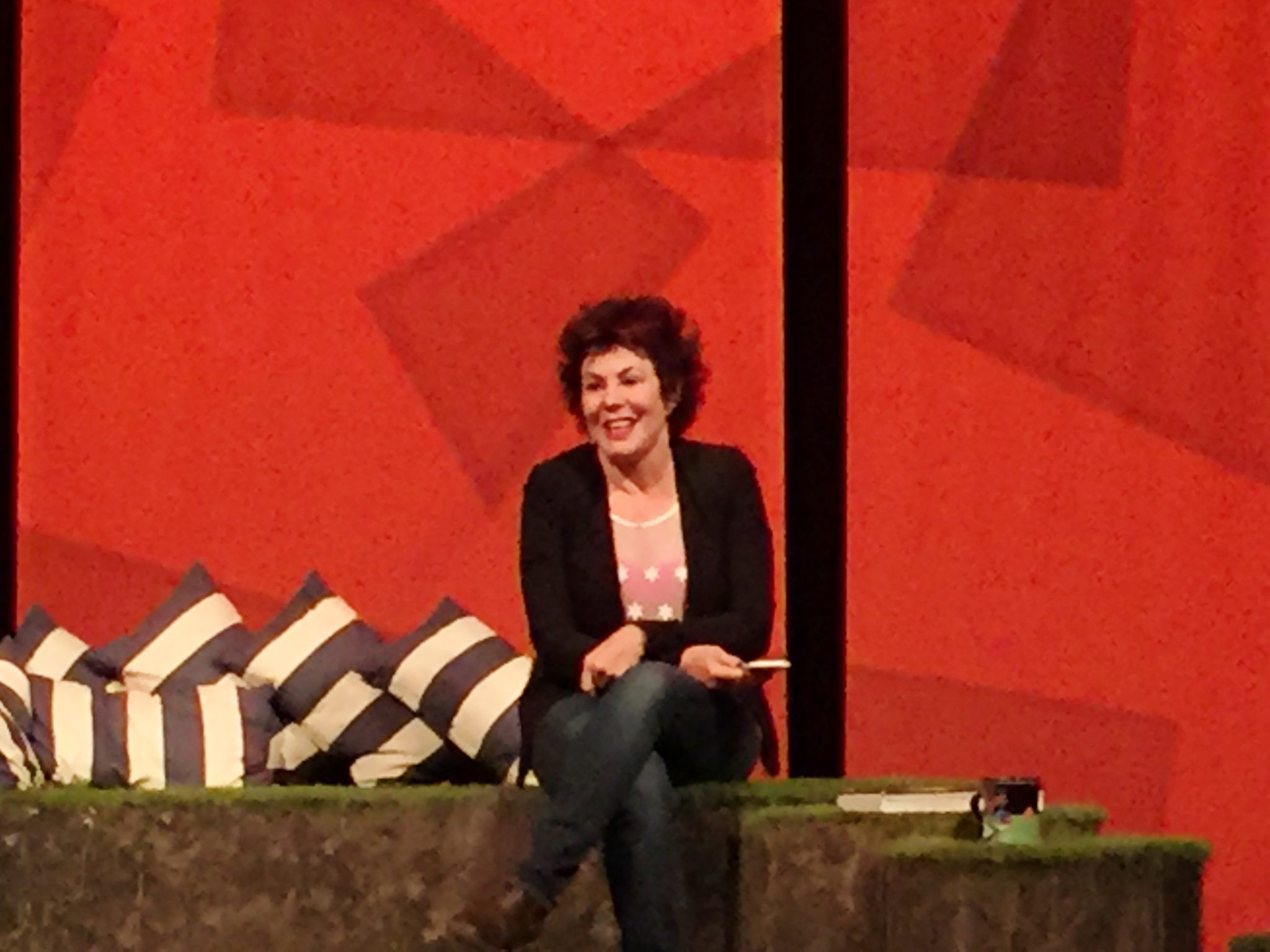 Review Ruby Wax Sane New World The Arts Theatre 2016