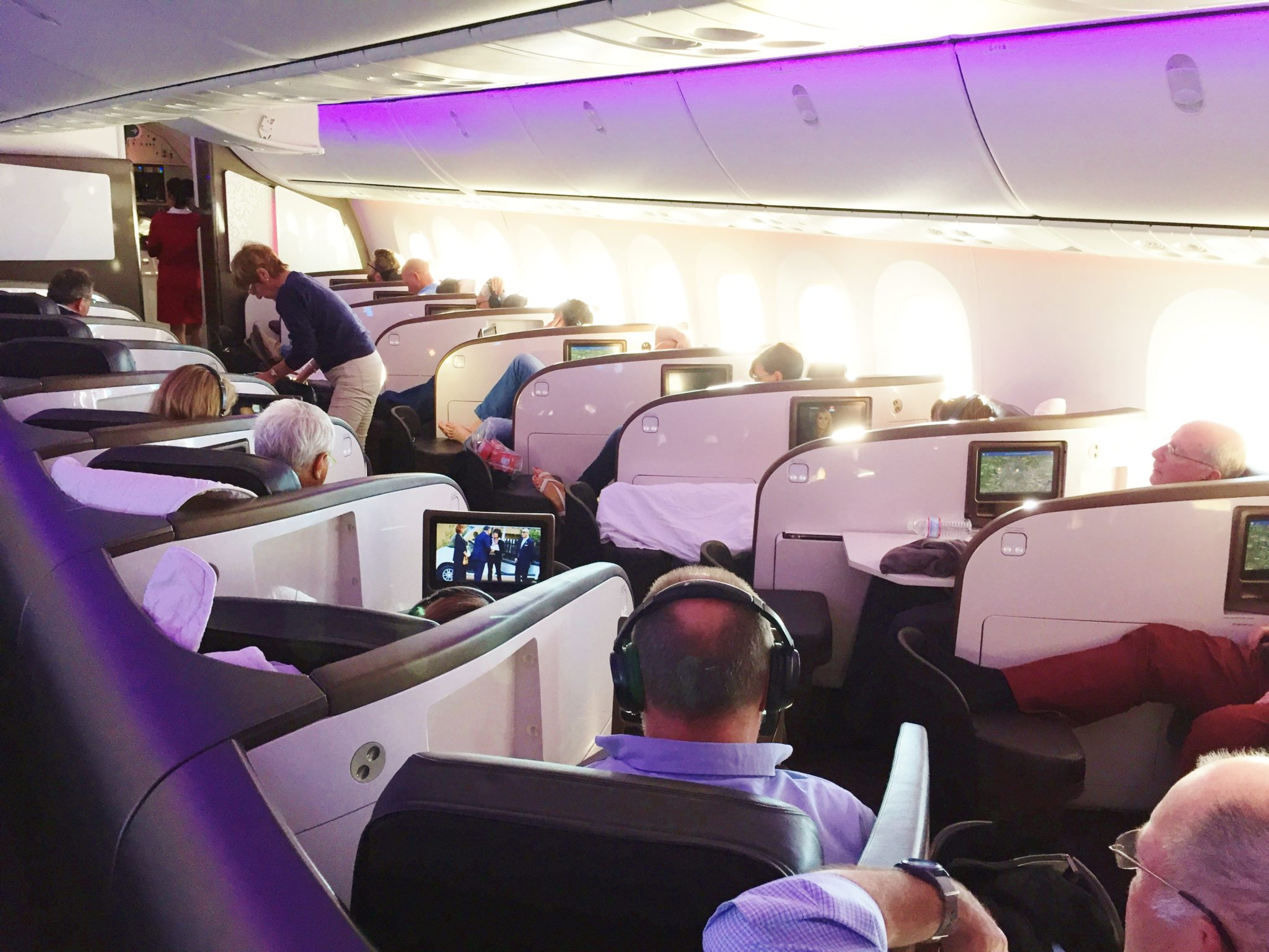 Review Dreamliner Upper Class Virgin Atlantic 787