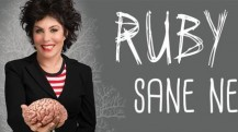 Enjoy Celebrity Radio's Review Ruby Wax Sane New World The Arts Theatre 2016…. Inspired by her ownexperience of depression – Ruby Wax has dedicated her life and career of late