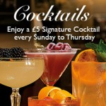 £5 Cocktails at Browns Restaurant Review