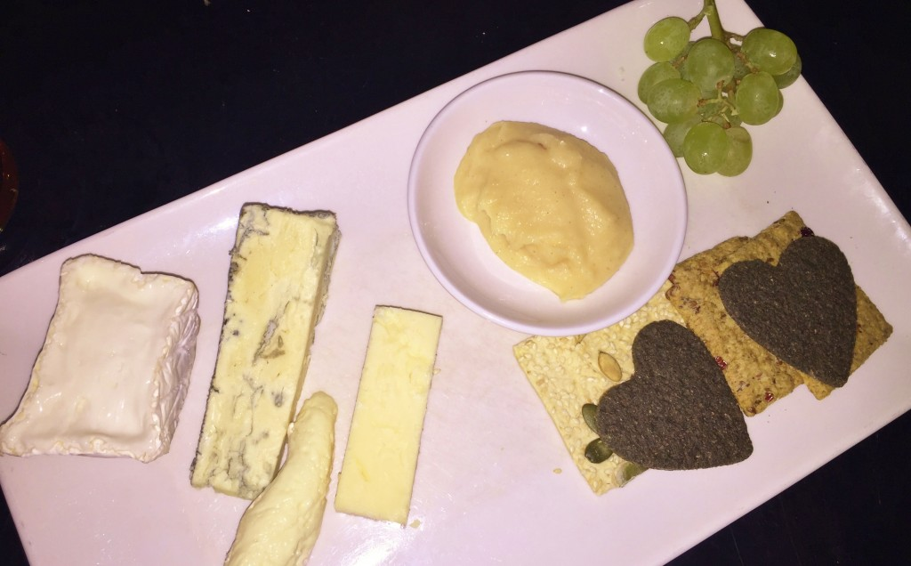 Browns Restaurant Review Cheese Board