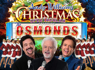 2016 tour dates andy williams christmas show osmonds - Andy Williams Christmas Show