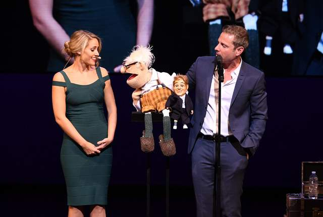 Paul Zerdin Girlfriend Robyn Mellors