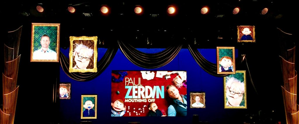 Paul Zerdin Planet Hollywood Review