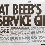 BBC Long Service Gifts Scandals