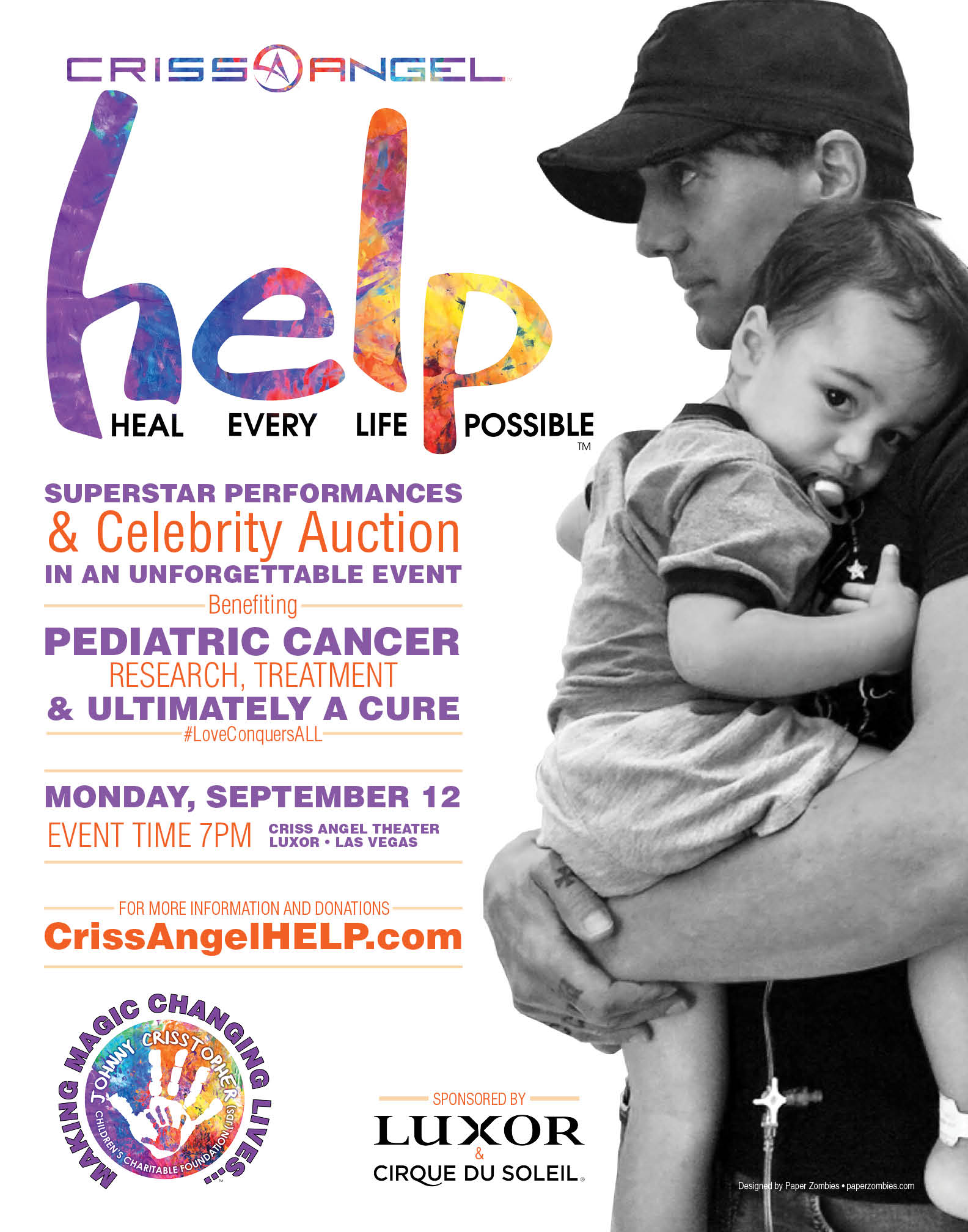 We have Exclusive information about the Criss Angel HELP Cancer Charity Concert Sept 12th 2016…. Criss Angel is just 3 weeks away from 'HELP', the star-studied […]