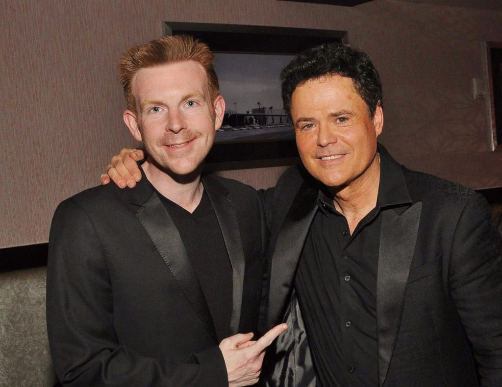 Donny Osmond Alex Belfield Interview