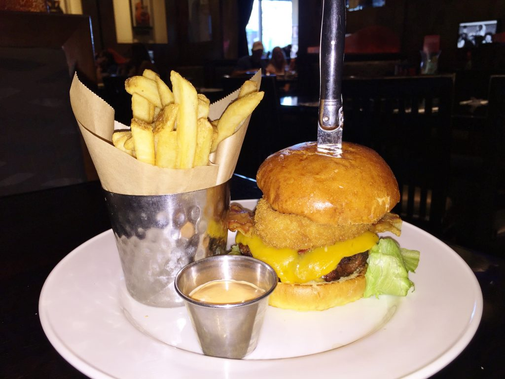 Entree Hard Rock Cafe Original Legendary Burger
