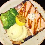 Entrees Hard Rock Cafe Review Salmon
