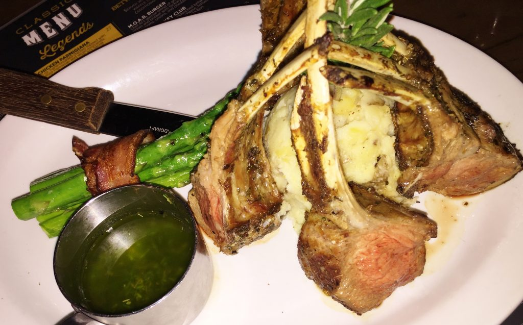 Entrees Off The Strip Lamb Chops