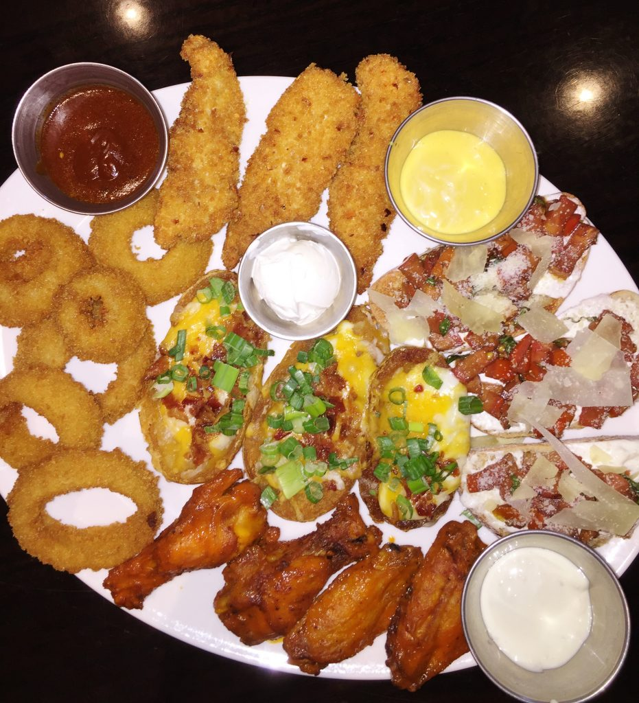 Food Review Hard Rock Cafe Combo platter