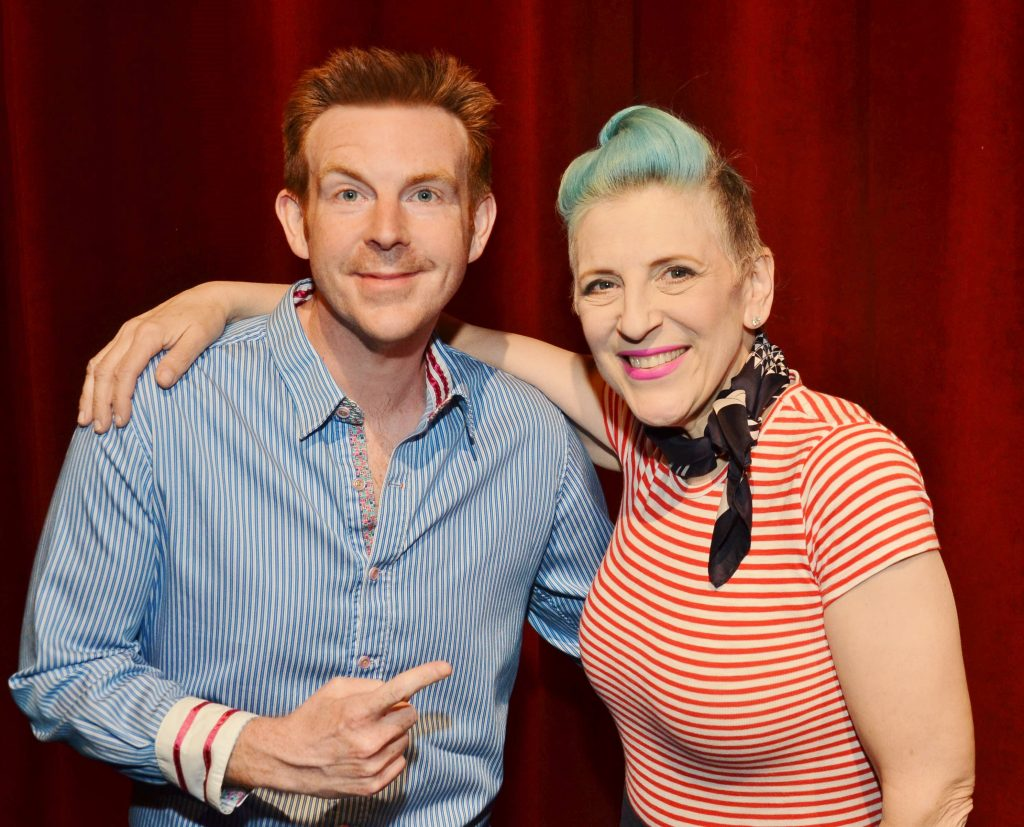 Lisa Lampanelli Alex Belfield interview