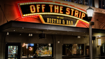 Enjoy Celebrity Radio's Review Off The Strip Restaurant The Linq Las Vegas…. Off The Strip is aLas Vegas locals' favourite whichboasts classic heartyfavourites, served quickly, in a beautifully presented bistro