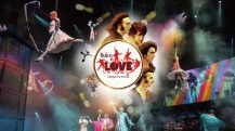 Enjoy Celebrity Radio's Review Beatles LOVE Cirque Du Soleil 10 Years Mirage…. The music, lyrics and iconic imagery of John, Paul, George and Ringo collectively changed the world. LOVE by Cirque du