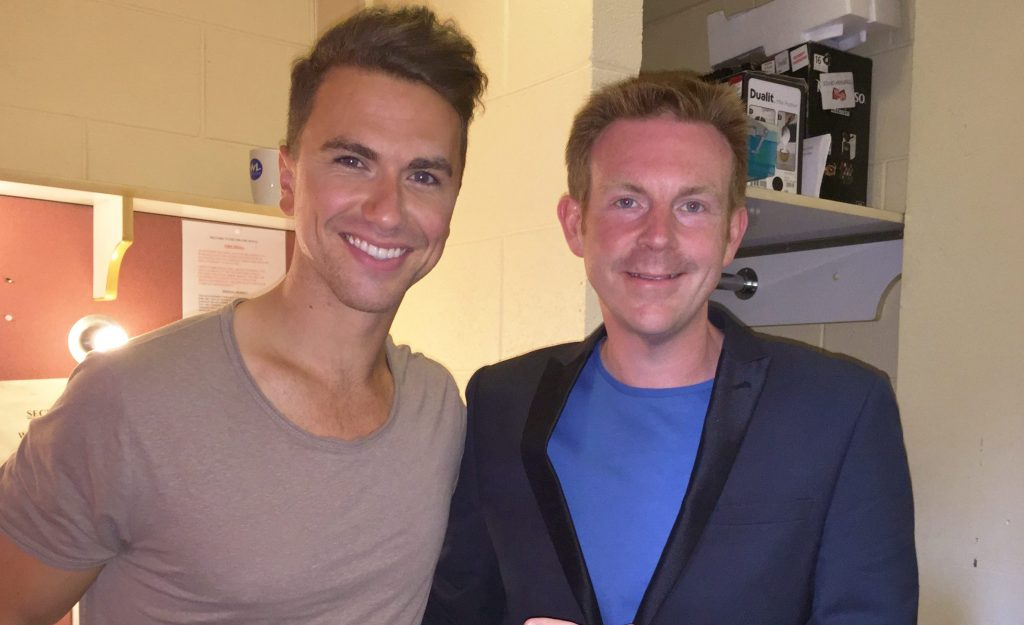Richard Fleeshman Alex Belfield Interview