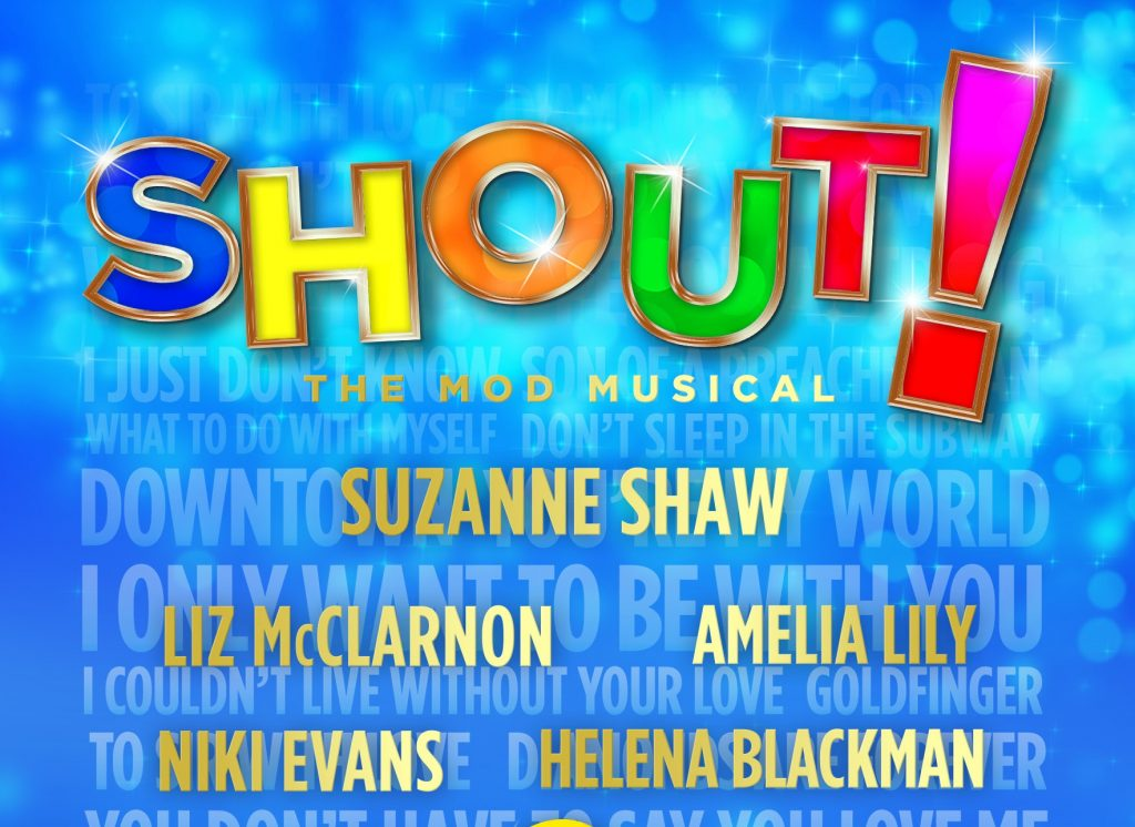 Shout! The musical Blackpool 2016 Suzanne Shaw Amelia Lily
