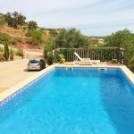 villa with pool faro portugal