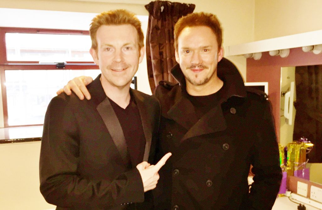 Interview Russell Watson Alex Belfield
