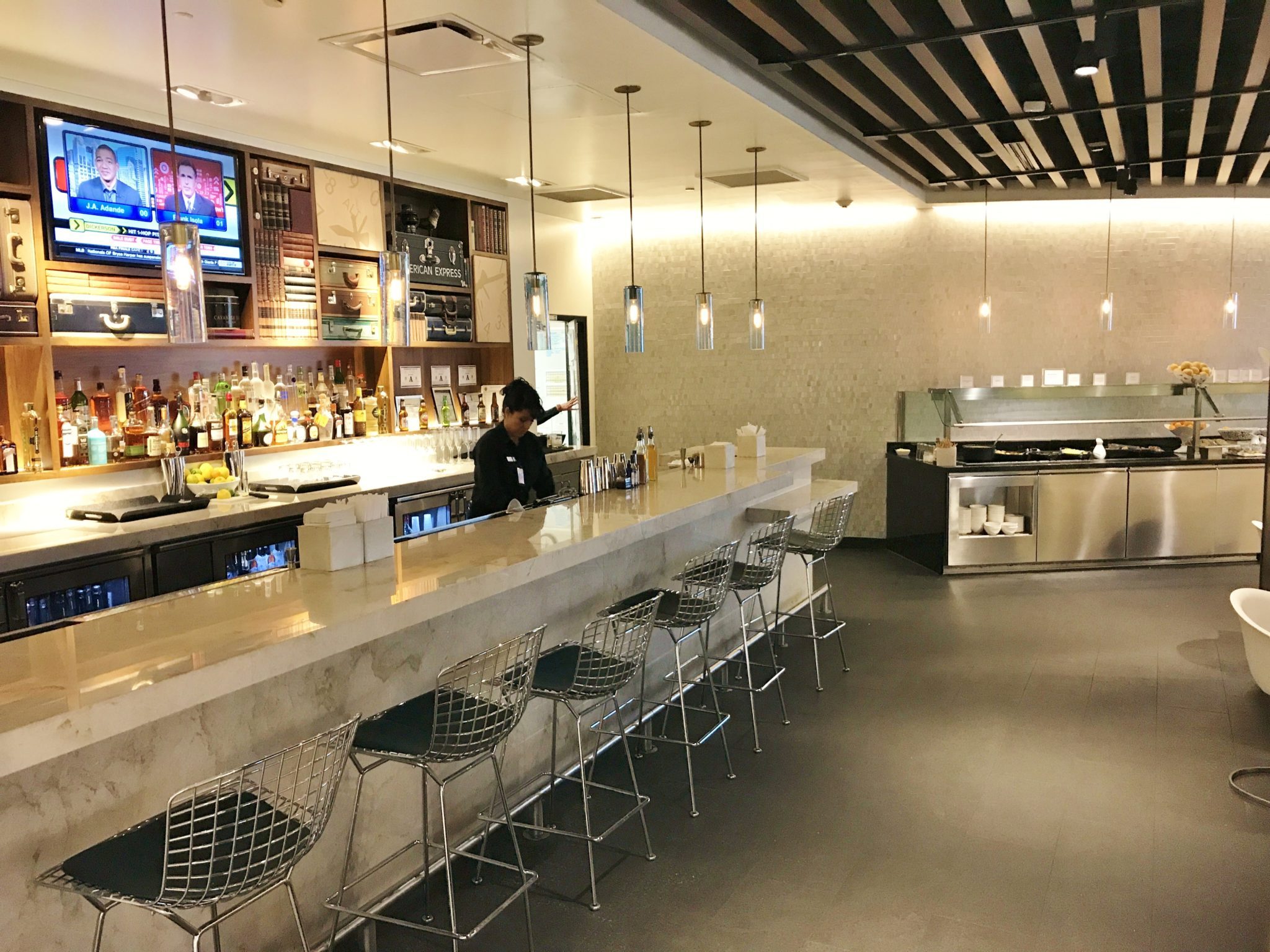 Review The Centurion Lounge