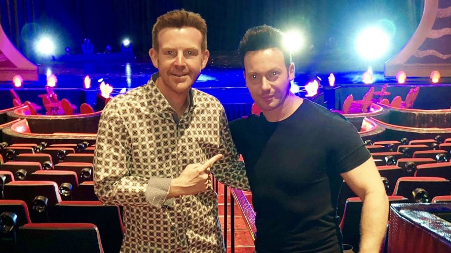 Review IMAGINARIUM by David Goldrake Interview… Award-winning magician David Goldrake appears nightly at the Tropicana Las Vegas. This world renowned & respected magician, from Luxembourg, presents 'Imaginarium' inside […]