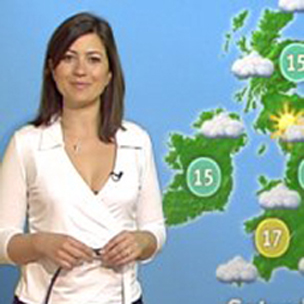 GMTV weather girl Clare Nasir loses a stone in five weeks
